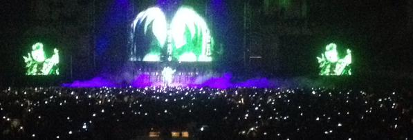 Smartphones en el concierto de Kiss