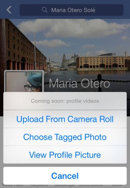 Coming soon: profile video   Maria en la red