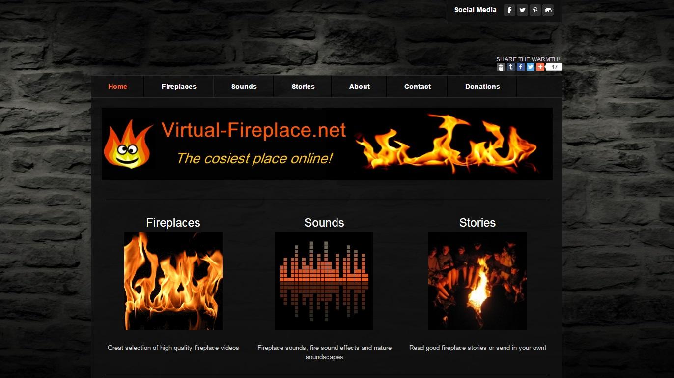 virtualfireplace home