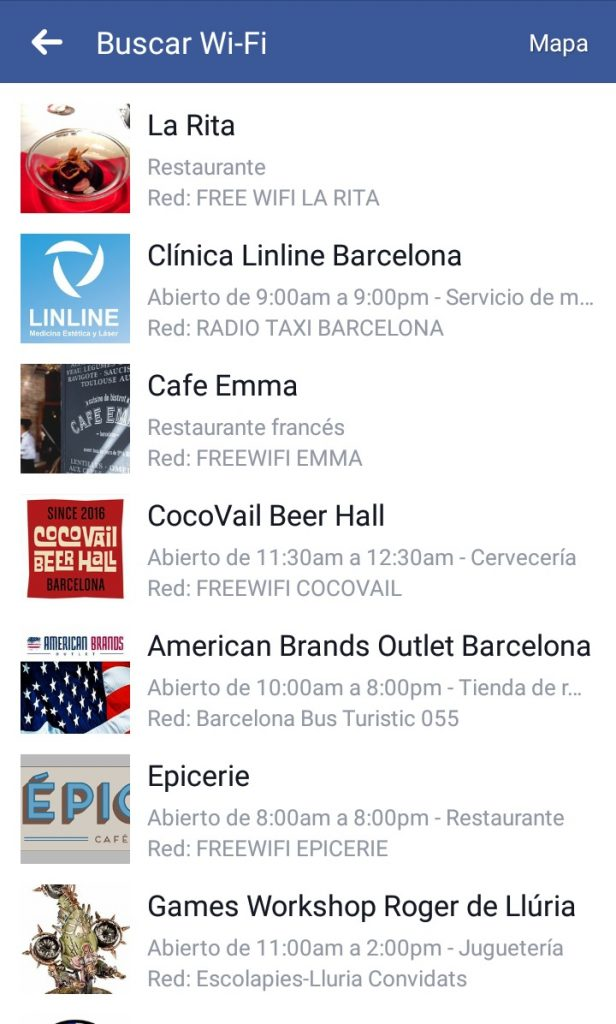 Encontrar wifi gratis con la app de Facebook | Maria en la red