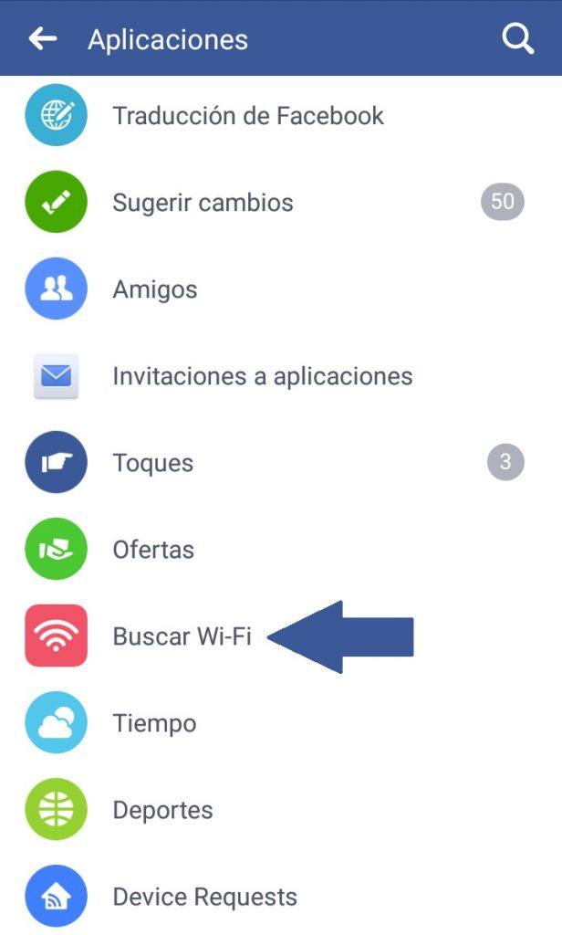 Encontrar wi-fi gratis en Facebook | Maria en la red