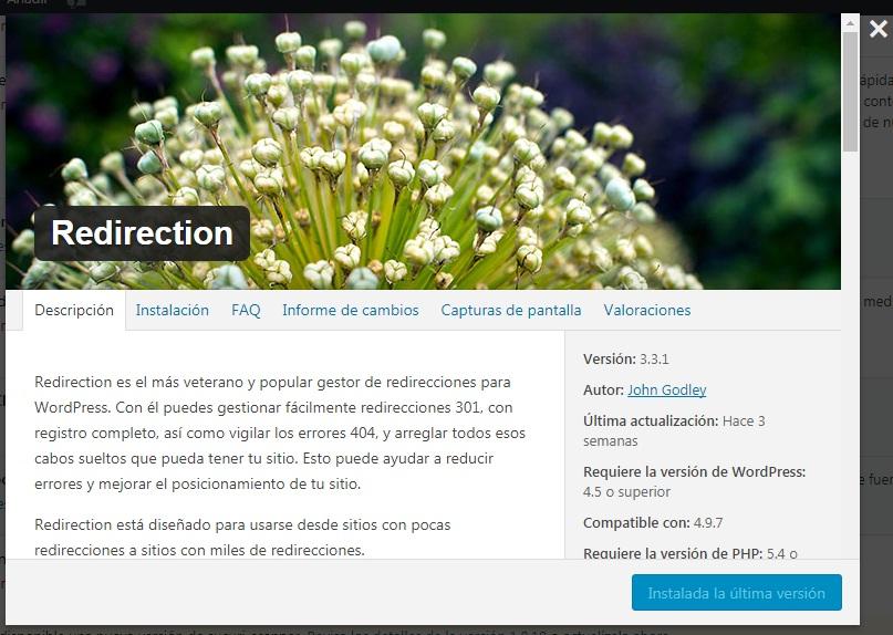plugins wordpress redirection