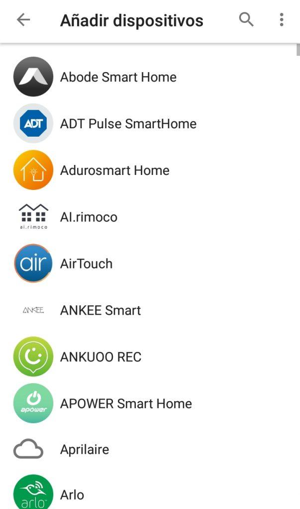 Listado de dispositivos compatibles con Google Home mini | Maria en la red