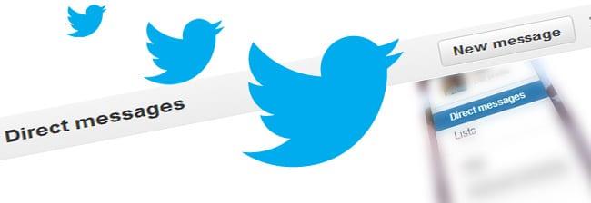 mensaje directo twitter