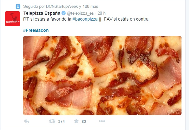 freebacon telepizza