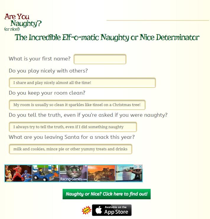 email santa test