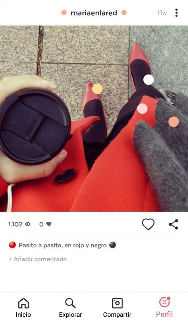 Outfit de Maria en la red en 21 buttons