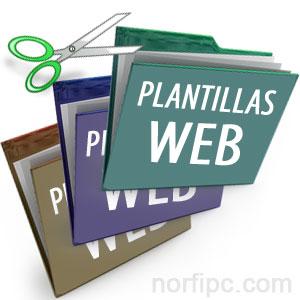 desarrollo web plantillas