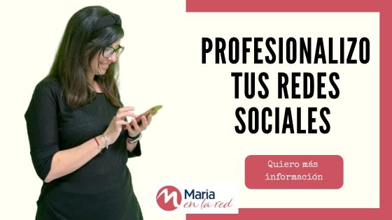 Community manager en Barcelona - Maria en la red