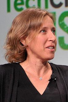 Susan Wojcicky, CEO de YouTube y una de las imprescindibles en los inicios de Google