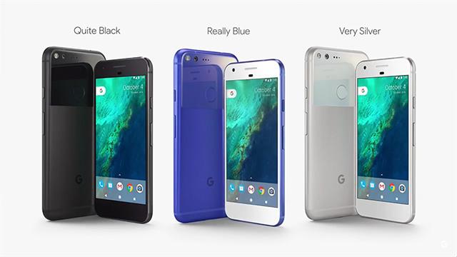 Los colores del Google Pixel
