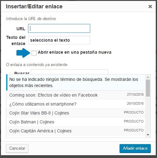 wordpress-link-herramientas-avanzadas-nueva-ventana