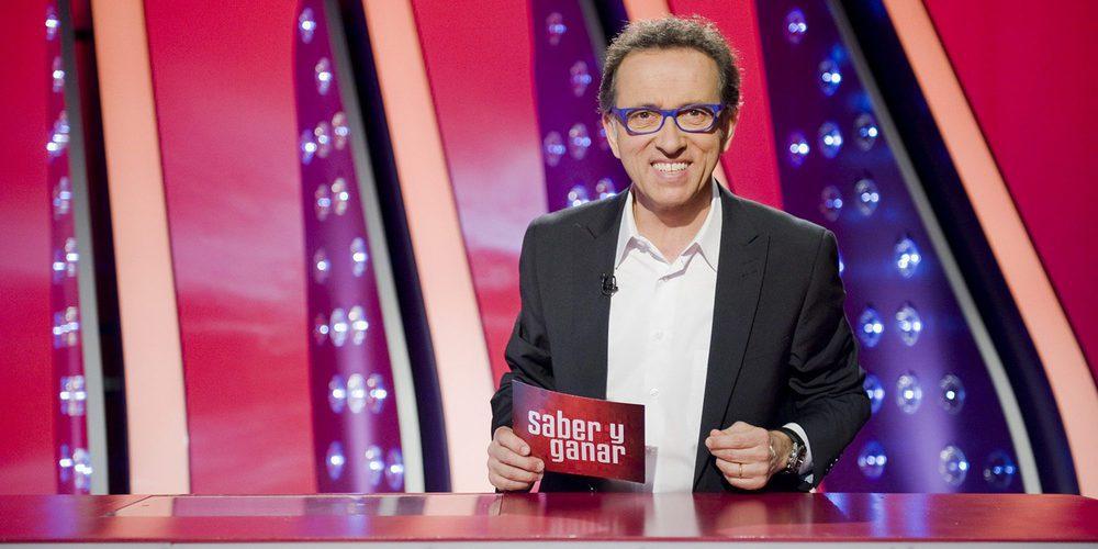 Jordi Hurtado como presentador de Saber y ganar
