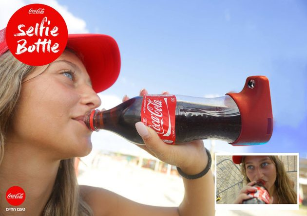 selfie-bottle-coca-cola