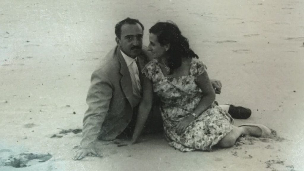 Mis abuelos Mercedes Xancó Soler y Dr. Joaquín Otero Sendra
