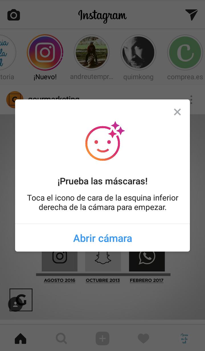 Nuevos filtros de Instagram | Maria en la red