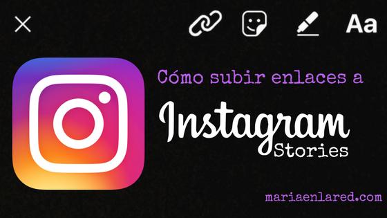 Como subir enlaces a Instagram