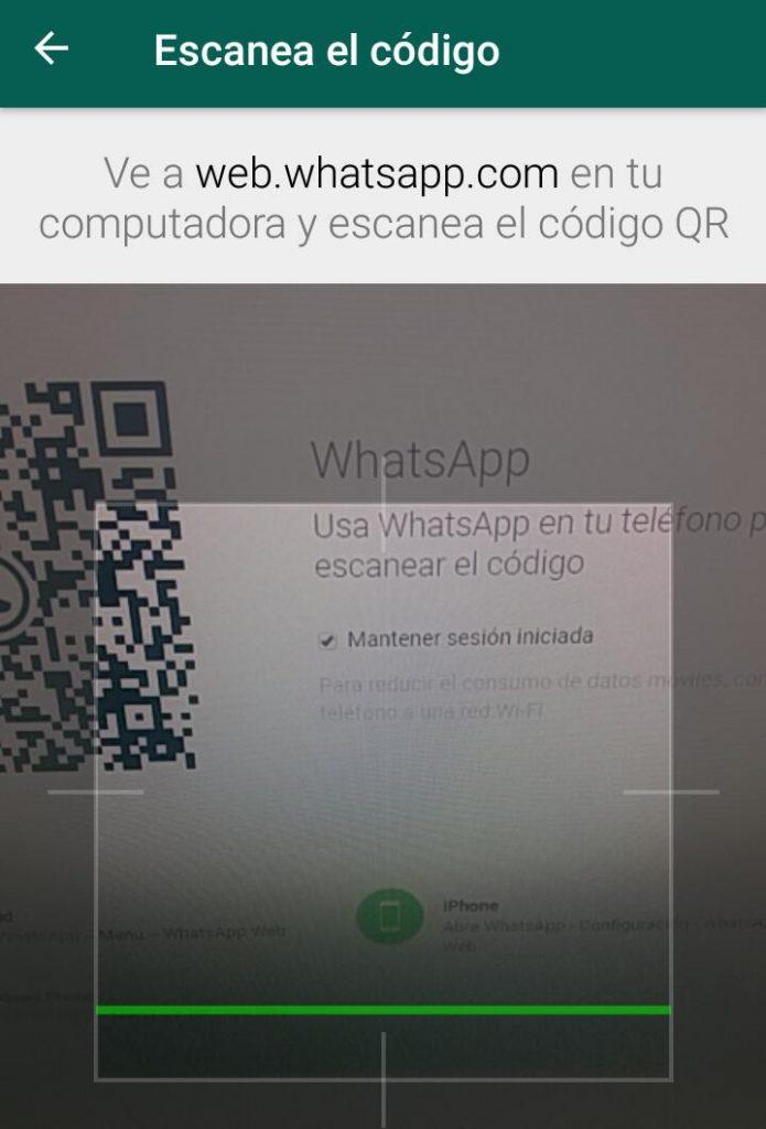 Cómo utilizar WhatsApp desde el ordenador - Lectura de código QR - Maria en la red