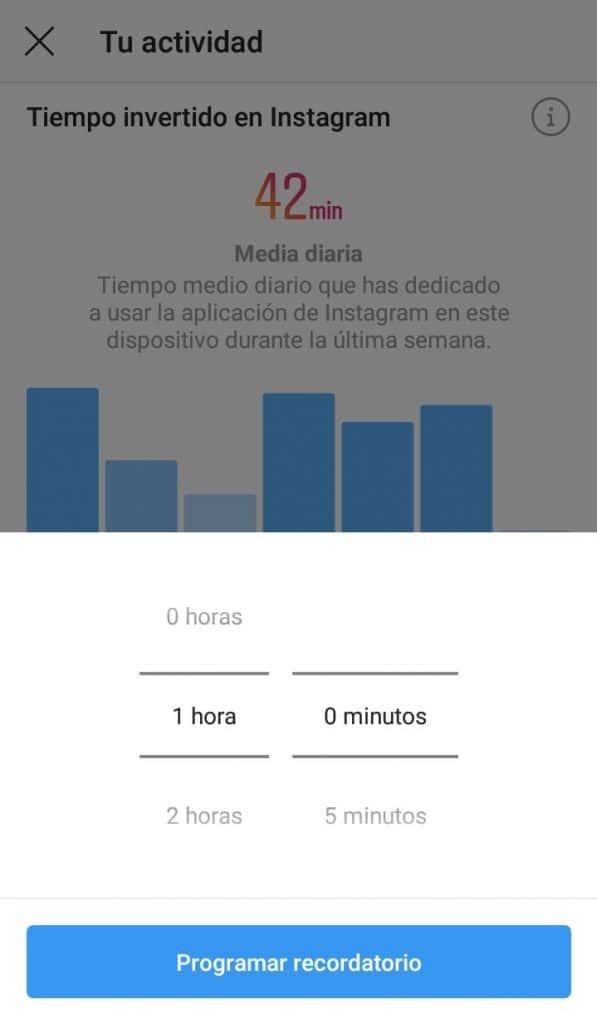 Cómo saber cuánto tiempo pasas en Instagram 2